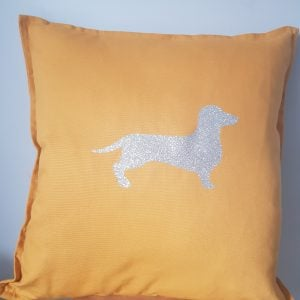 Dauchound cotton 50x50cm cushion cover