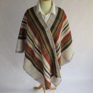 Handmade Yorkshire Blanket Shawl.