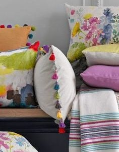 Soft Furnishings, including cushions, lampshades, blankets