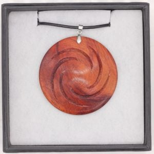 Padauk wood pendant - Woodcraft by Owen