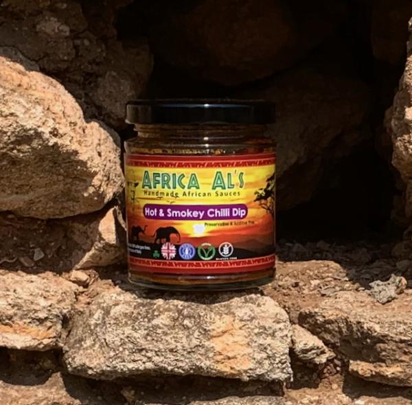 Africa Als Hot & Smokey Chilli Dip