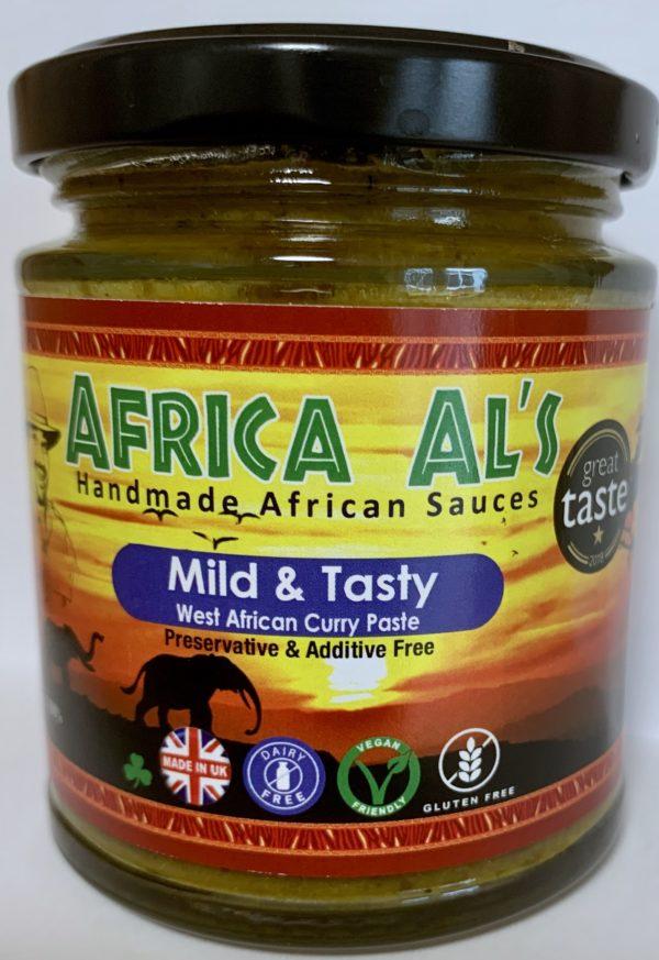 Africa Al's Mild & Tasty West African Curry Paste Great Tasty Winner