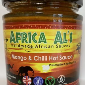Africa Al's Mango and Chilli Dip Sauce Scotch Bonnet African Birds Eye Chilli