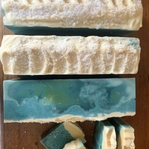 Ocean Dreams Soap laid out