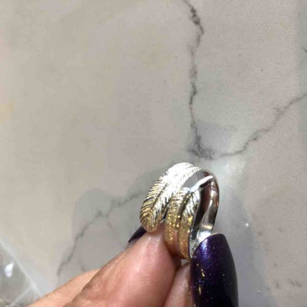 silver plume ring