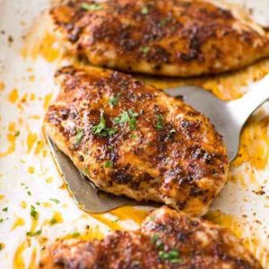 Africa Al's Fiery Oven Baked Chicken Breast