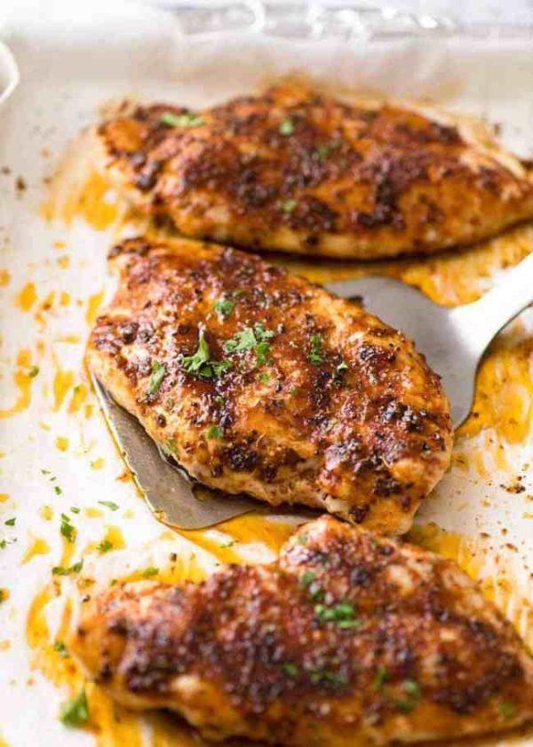 Africa Al's Fiery Oven Baked Chicken Breast