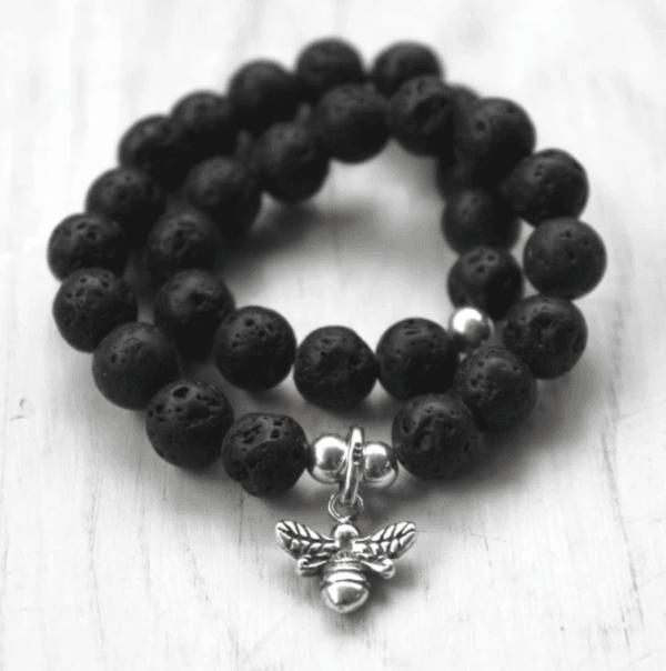 Lava Manchester Bee Bracelet