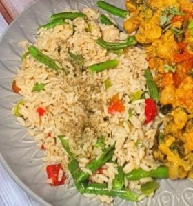 Indian Farmhouse Vegan Meal for Two