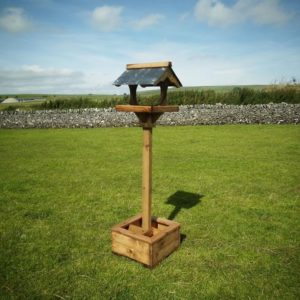 Slate Planter Bird Table