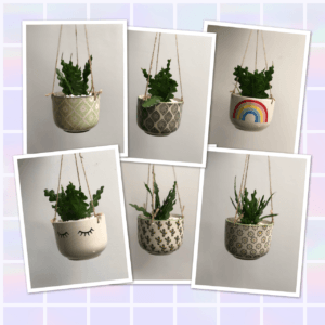 hanging planters photos