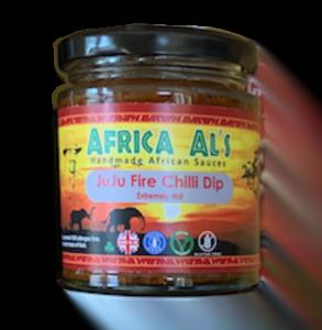 Africa Al's JuJu Fire Chilli Dip