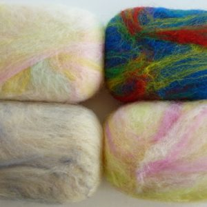 Felted Soap Kit All Soap Samples together