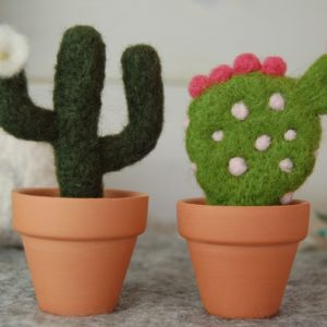 Needle Felt Cacti Kit
