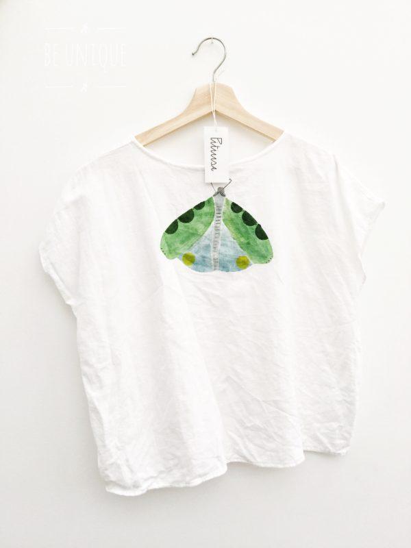 Linen butterfly top