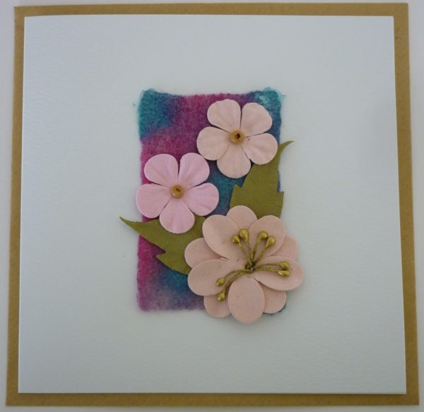 Fun Flowers Greetings Card 2