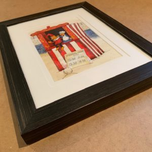 punch and judy That's The Way To Do It original watercolour 3D