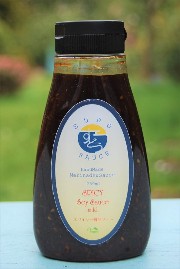 Sudo's Spicy soy sauce -mild- 250ml
