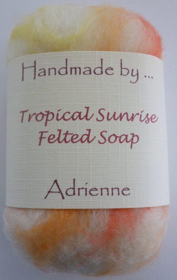 Sample Tropical Sunrise Soap