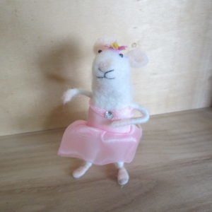 Ballerina Felt mouse