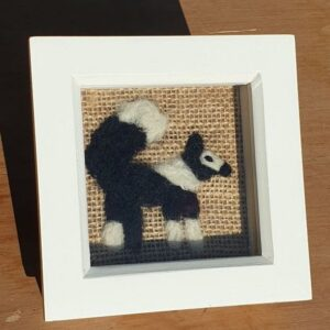 Scruffy Dog Creations, Needle Felted Border Collie picture