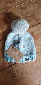 Scruffy Dog Creations, Bobble Hats,Baby Hat