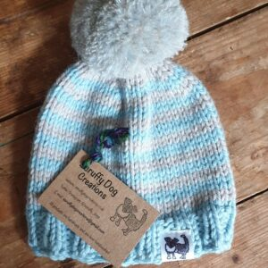 Scruffy Dog Creations, Bobble Hats,Baby Hat
