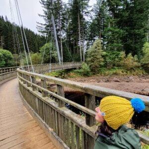 Scruffy Dog Creations, Ribbed Bobble Hat, Mustard Hat, Adult Hat, Bridge