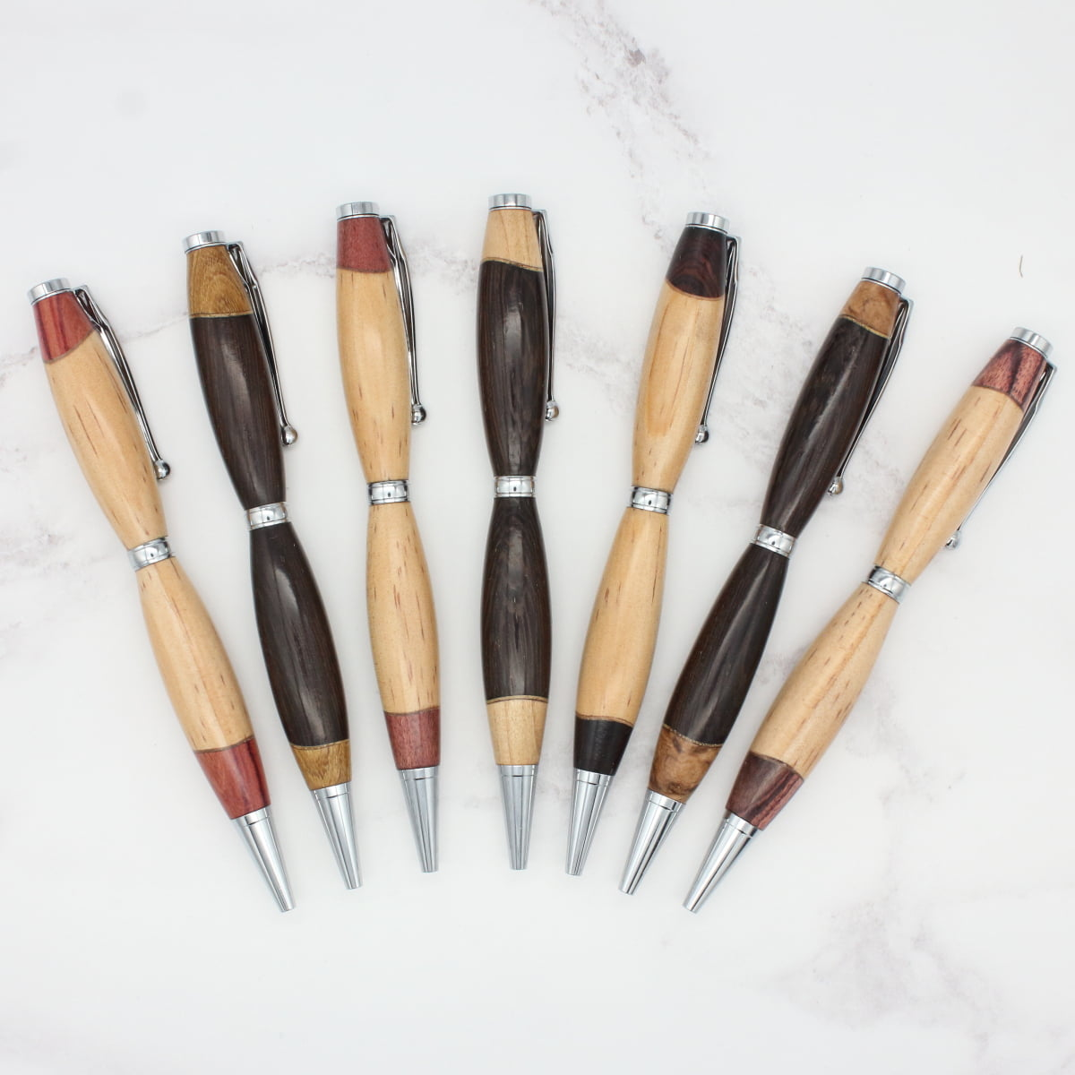 """Accent"" slimline style wood pen"