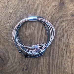 Multistrand Stars Magnetic Bracelet