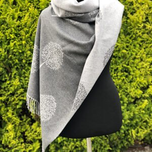 grey tree scarf