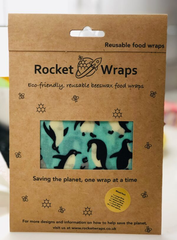 Beeswax Wraps - Mixed Size Pack