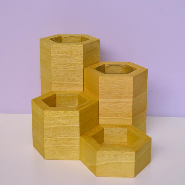 hexagonal vase collection idigbo