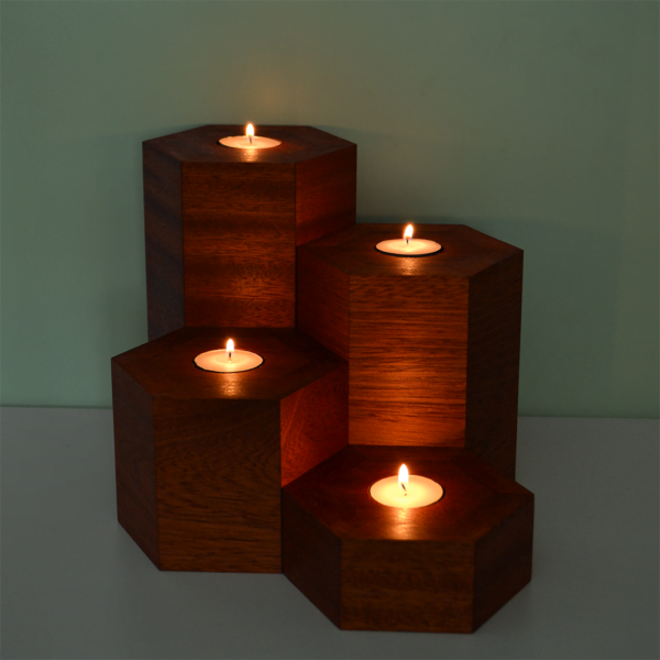 hexagonal vase collection utile
