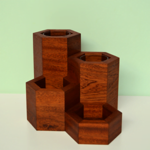 hexagonal vase collection utile