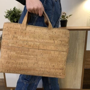 Cork Natural Laptop Bag