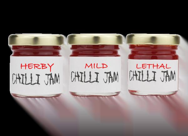 Variety Pack Chilli Jam
