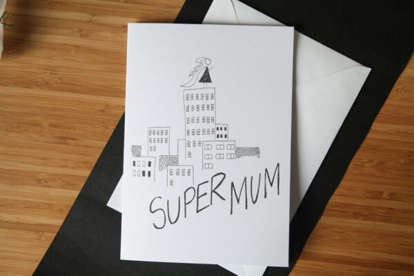 Mothers Day Cartoon Card