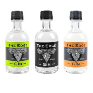 3 x 5cl Edge Gin